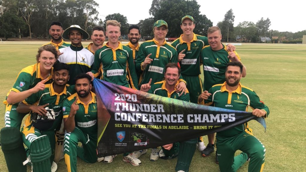HAWKS DEFEAT BANKSTOWN IN SYDNEY THUNDER T20 CONFERENCE FINAL TO CLAIM THE FLAG